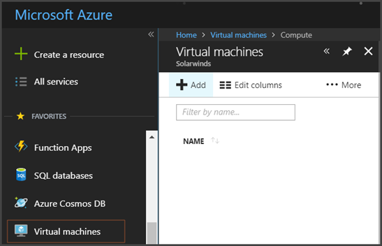 Virtual disaster recovery to Azure Cloud