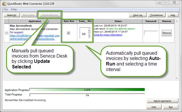 Step 1 - Connect to QuickBooks Desktop