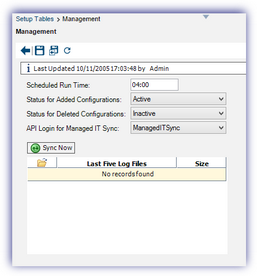 ConnectWise MSP Management IT Solution - Agreement update