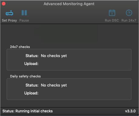Mac Agent Installation