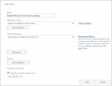 Configure Office 365 with Spam Experts